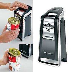 Electric Can Opener Smooth Edge Touch Commercial Tool Large