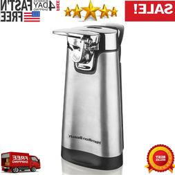 Electric Can Opener Stainless Automatic Steel Home Kitchen W