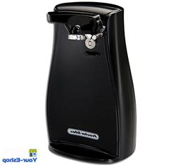 Electric Can Opener With Knife Sharpener Power Openers Black