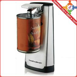 Hamilton Beach Electric Can Opener With Knife Sharpener Stai