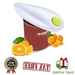 Electric Commercial Can Opener Automatic Smooth Edge Under C