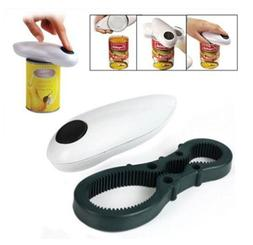 Electric One Touch Can Open Cordless Battery Operated Tin Bo