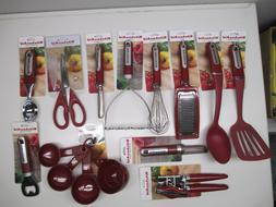 KitchenAid Empire Red Cooking Utensils choose style from dro