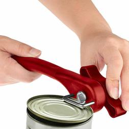 Ergonomic Manual Can Opener Cans Lid Lifter Smooth Cut Side