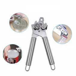Food Safety Stainless Steel 3 in 1 Manual Can Opener Tin Cap