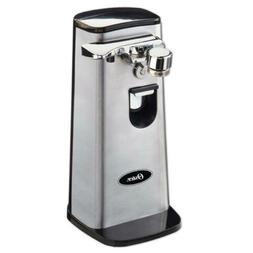 Oster FPSTCN1300 Electric Can Opener, Stainless Steel Hands-