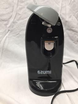IMUSA USA GAU-80322W Electric Can Opener with Knife Sharpene