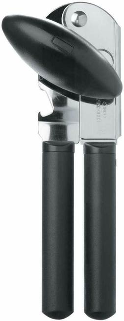 OXO Good Grips Soft Handled Non-Slip Can Opener, Black/Silve