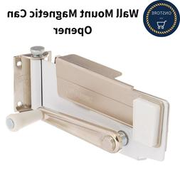 Heavy Duty Kitchen Manual Wall Mount Magnetic Can Opener Lif