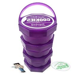 Cookies SF Jar Large 3 Stack Limited Edition Purple + KC Exc