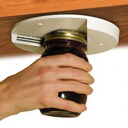 Jar Opener for Under the Kitchen Cabinet Counter Bag Bottle
