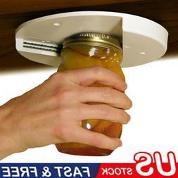 Jar Opener for Weak Hands Under Cabinet Lid Openers for Seni