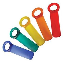 Brix JarKey Jar Opener, The Original JarPop! - Assorted Colo