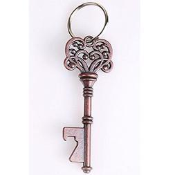 Honice Key Beer Bottle Opener Portable Metal Key-chain Ring