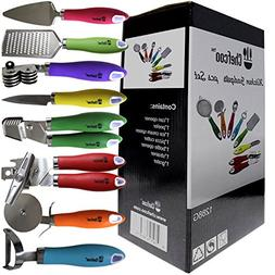 Kitchen Gadgets Tools Set 8 Pieces Stainless Steel Chef Cook