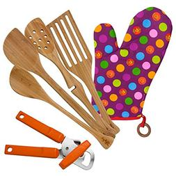 Lefty's Kitchen Tool Set Includes Left Handed Can Opener, Ov