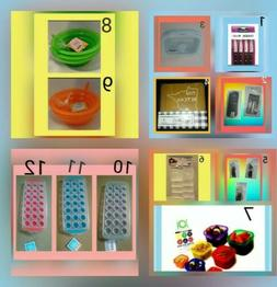 Kitchen Utencils Knives Storage Containers Coasters Can Open