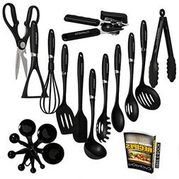 Premium Kitchen Utensil Set - Nylon Heat-Resistant Non-Stick