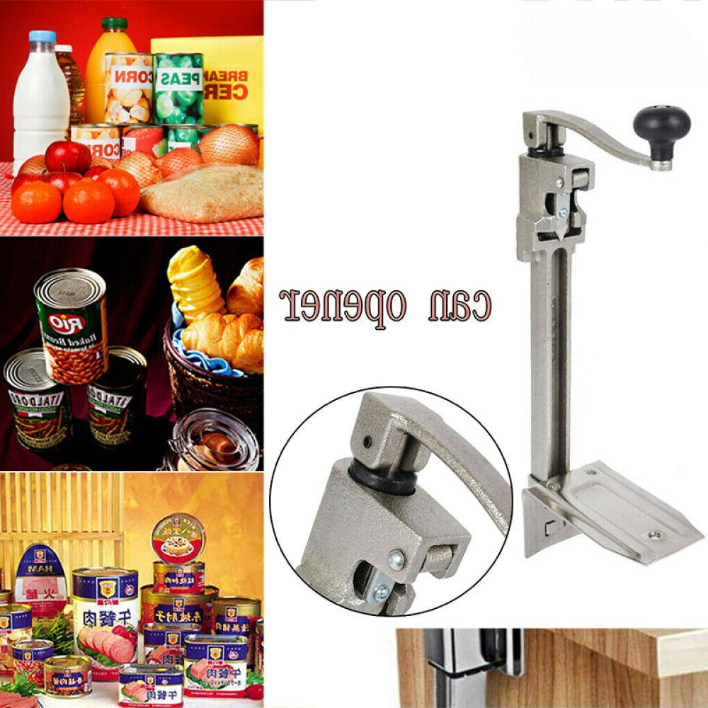 """Stainless Table Can Opener - Up To 11""""H Cans USA STOCK"""