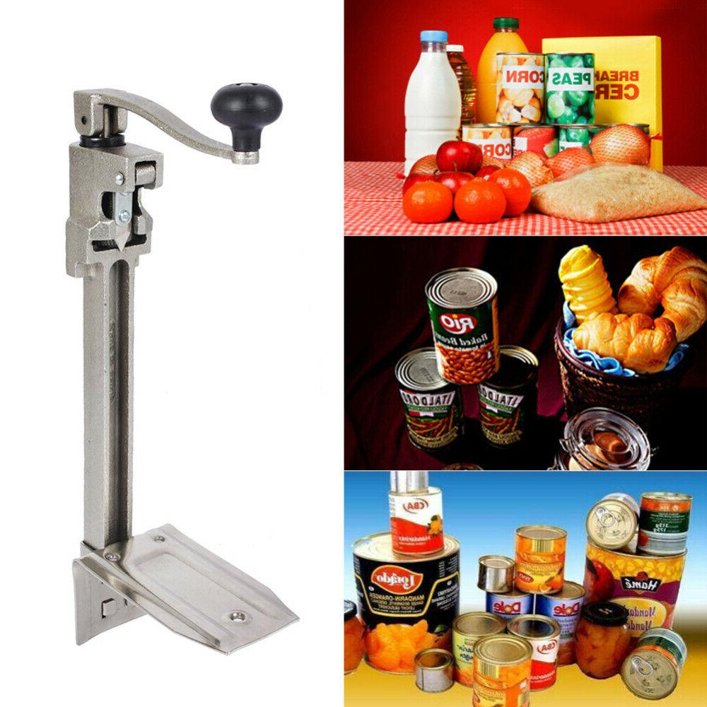 stainless steel table mount can opener tool