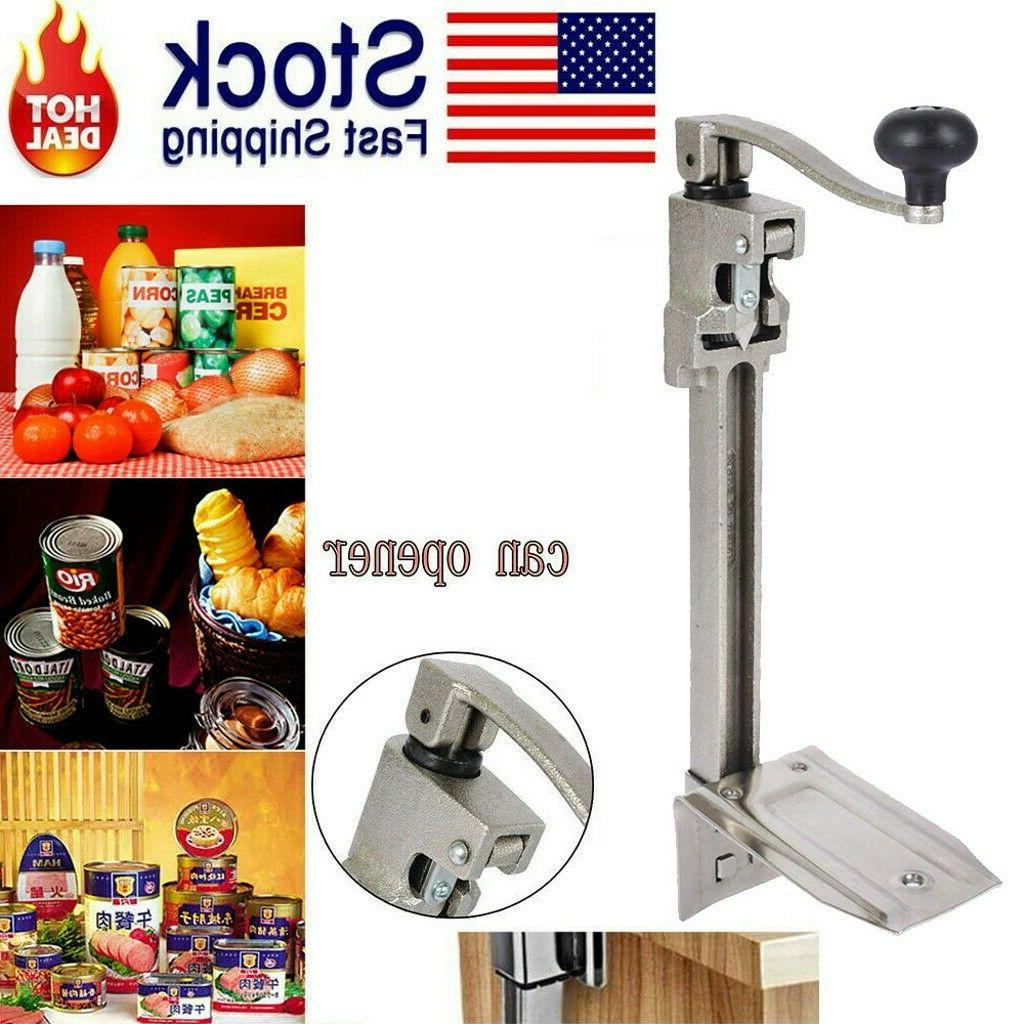 Stainless Steel Can Opener - To Cans USA STOCK