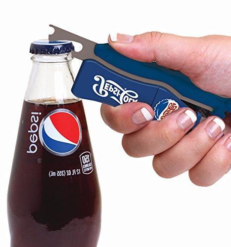 Jokari 18004P3 Count Pepsi 3-in-1 Beverage Red/White/Blue
