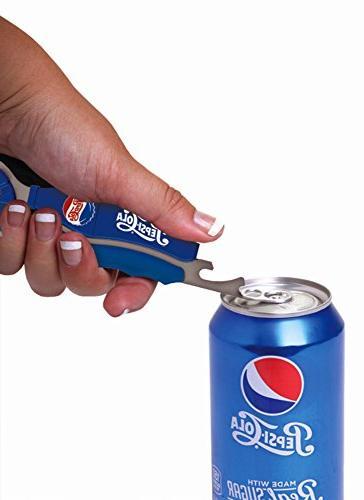 Jokari 3 Count Pepsi Heritage Logo Beverage Opener,