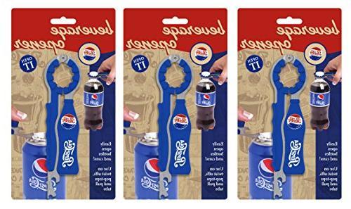 Jokari 3 Pepsi Beverage Opener,