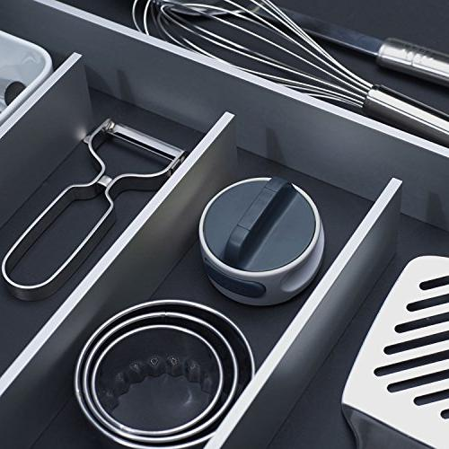 Joseph Compact Can Twist Release Space-Saving Manual Stainless Steel,