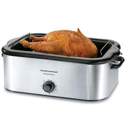 Hamilton Beach 32229 Roaster Electric Oven - Single - 0.73 f