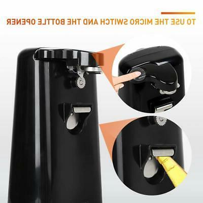 4-in-1 Electric Can Safe Knife Sharpener Bottle