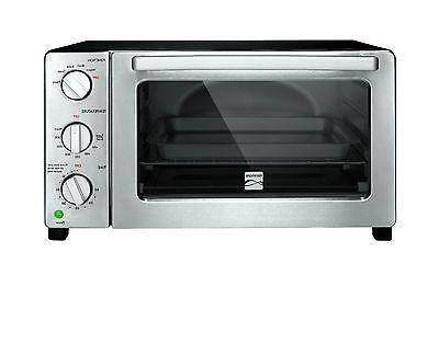 Kenmore 6 Slice Black Convection Toaster Oven Free Shipping