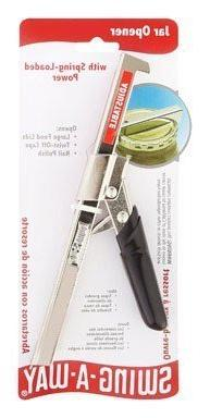 Swing A Way 711bk Black Comfort Grip Jar Opener  by Amco