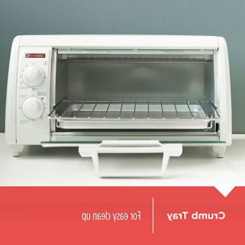 BLACK+DECKER Toaster White,