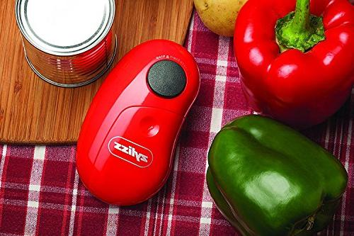 ZYLISS Electric Can Opener, Red