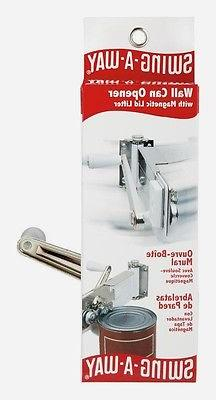 Swing A-Way Can Lid Lifter Steel White Away 609WH NEW