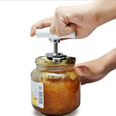 Adjustable Can Jar Tin Bottle Opener Food Kitchen Tool ABS S