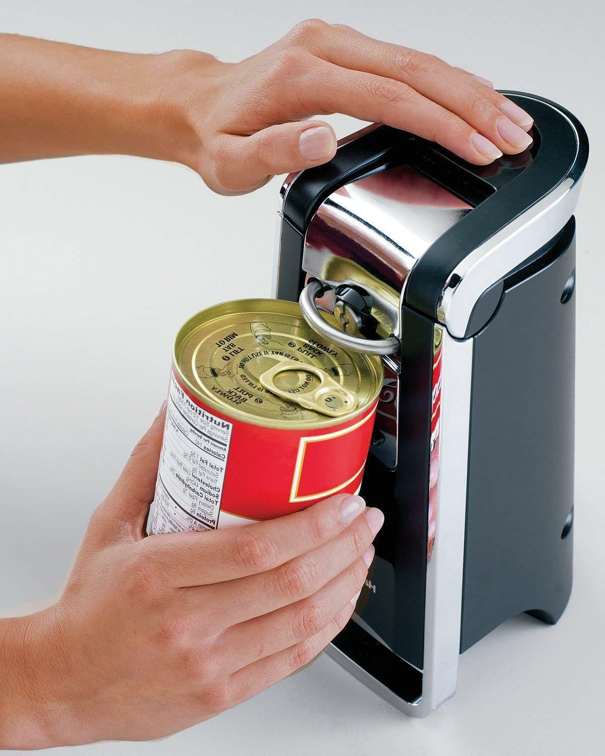 electric can opener smooth edge touch commercial