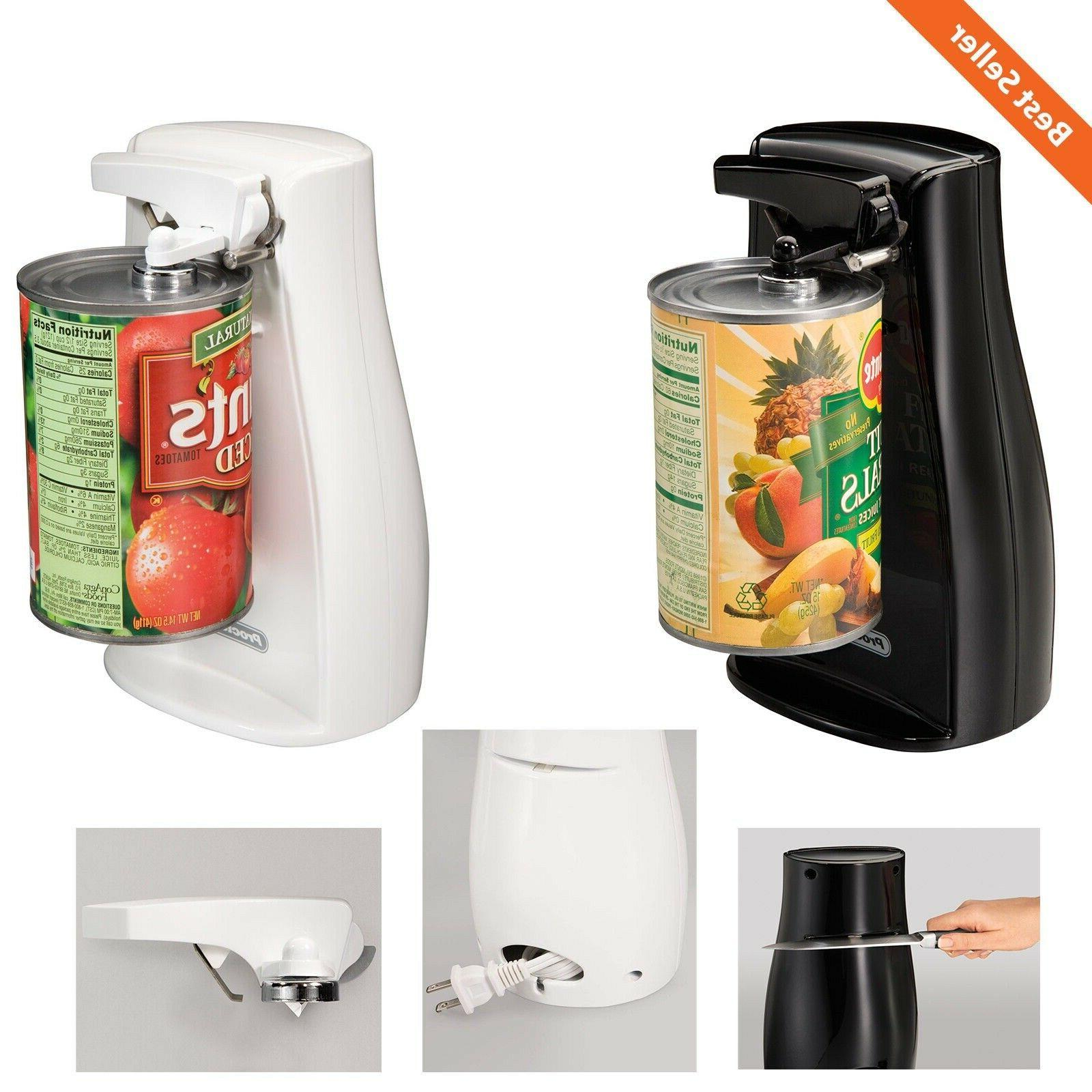 automatic electric can opener w knife sharpener