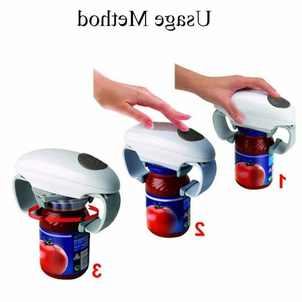 Automatic Jar One Can Opener Kitchen MX