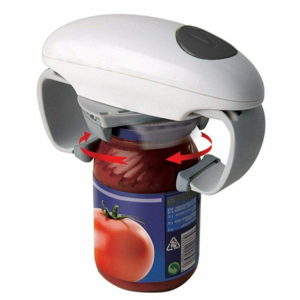 automatic electric jar opener one touch can