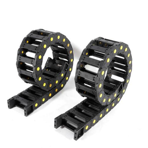 Black 2pcs Chain Universal For Equipment