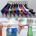 New Bottle Can Opener Keyring Keychain Aluminium 2-in-1 Desi