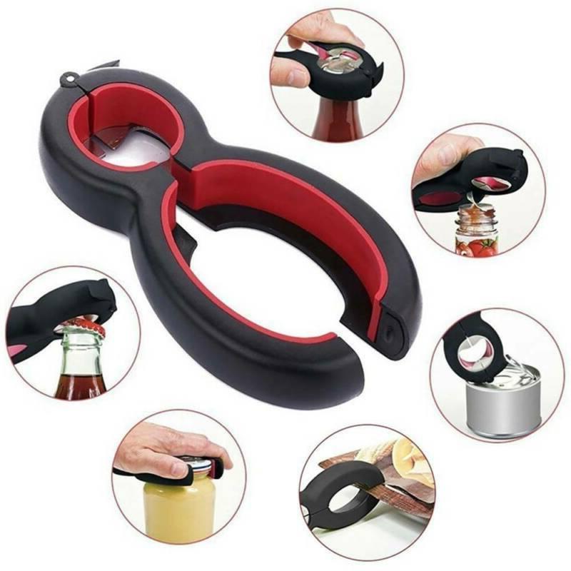 6in1 Multi Purpose Screw Cap Kitchen Tool