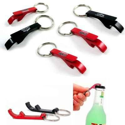 5x Bottle Opener Key Chain Can Metal Aluminum Pocket Tool Gi