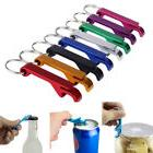 1PCS Bottle Opener Keyring Keychain Aluminium Bottle Beer Ca