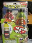 """Set of 12 Bottle Tops """"As Seen On TV"""" Soda/Beer Can Snap On"""