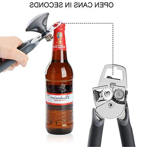 Can Manual Can Good Built-in Bottle Held Stainless Steel Opener