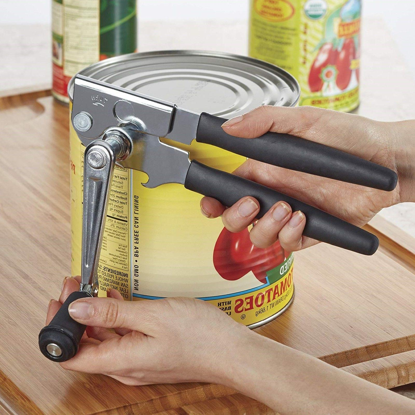 can opener easy crank handle kitchen tool