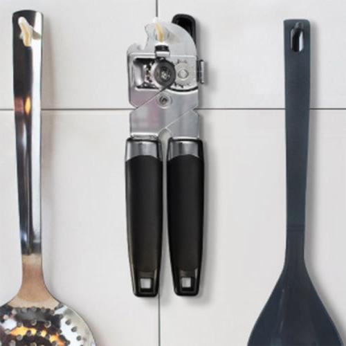 Can Opener Stainless Steel Handy Safty Jar Openers Kitchen US